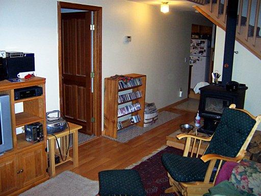 Living Room Renovation Winter 2004